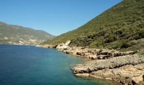 Seaside Plot in Lefkada Code:1074