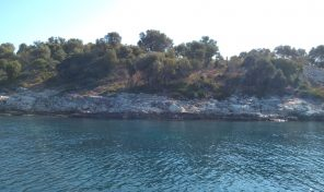 on the beach land,in Meganisi,with code:1246