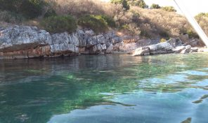 plot on the beach in Meganisi,with cod:1241